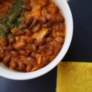 Curry z czerwonej fasoli