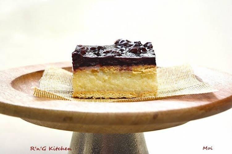 Ciasto z kaszy manny (bez pieczenia)