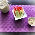 Dietetycznie – hummus z warzywami