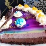 Tort czekoladowo-  malinowy