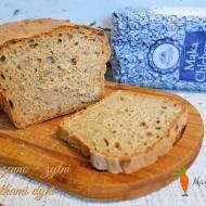 Chleb pszenno - żytni z pestkami dyni wyrabiany mikserem