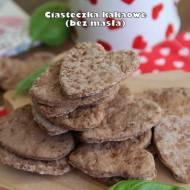Ciasteczka kakaowe (bez masła)