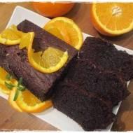 ciasto czekoladowe z nutką pomarańczy