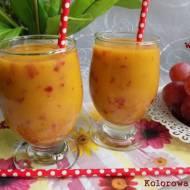Koktajl gruszka mango winogrono