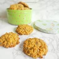 Owsiane ciasteczka z wiórkami kokosowymi