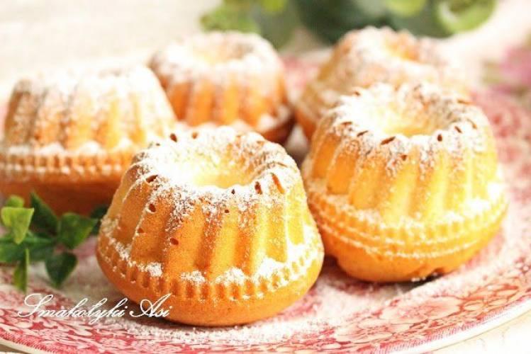 Mini babeczki waniliowe