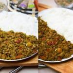 Aromatyczna soczewica z suszonymi pomidorami i ryżem jaśminowym