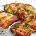 Bakłażan zapiekany a'la pizza margerita