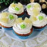 Cupcakes ananasowe