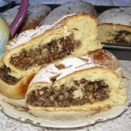 makowo-jabłkowe ciasto drożdżowe...