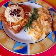 Soczysty filet kurczaka z ananasem i żurawiną.