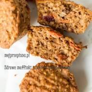 Zdrowe muffiny jabłkowo-marchewkowe