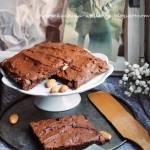 Daktylowe brownie z orzechami - bez cukru i glutenu