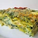 Lasagne z jarmużem i ricottą (Lasagne con cavolo nero e ricotta)