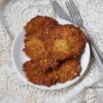 Placuszki batatowe z mąką kasztanową