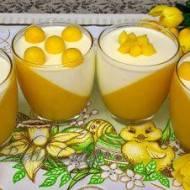 Deser z Mango Panna Cotta