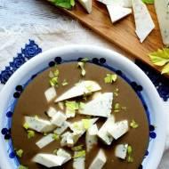 Szybka zupa krem z pieczarek i borowików z serem korycińskim