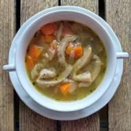 Zupa z boczniakami