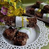 Energetyczne batony czekoladowe