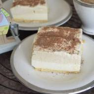 Kostka cappuccino (ciasto bez pieczenia)