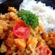 Przepyszne bezmięsne curry z dyni, zwiększające metabolizm, polepszające koloryt skóry oraz odporność.