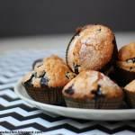 Muffiny z borówką amerykańską