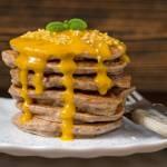 Placuszki z mąki gryczanej (pancakes)