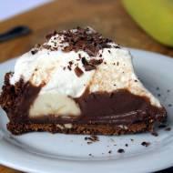 Ciasto na niedzielę szybkie i łatwe #17 Tarta bez pieczenia z czekoladą i bananami