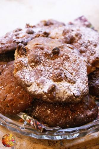 Bakaliowe ciasteczka z winiakiem