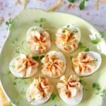 Jajka z delikatnym kremem serowym