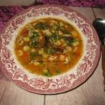 Zupa z piersi kurczaka z kluseczkami