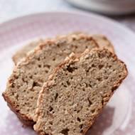 Ciasto bananowe z mąką kokosową i orzeszkami (bezglutenowe, bez cukru)