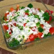 Sałatka Brokułowa z Jajkiem i Pomidorami Smaczna i Syta