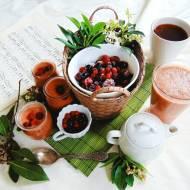 Przepisy na smoothie: smoothie malinowe