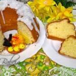 Babka Kokosowa - Ciasto Kokosowe - Przepis na Wielkanoc