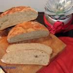 Chleb na wodzie zakwasowej pomarańczowo - jabłkowej
