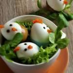 Kurczaki z jajek