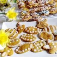 Marchewkowe ciasteczka wielkanocne