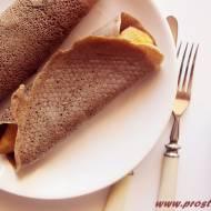 Naleśniki z mąką teff ( bez glutenu, mleka i jajek )