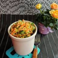 Surówka z brokuła i marchewki