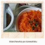 Marchewka po koreańsku
