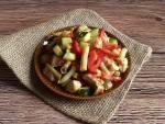 """Poniedziałkowy """"fit"""" - Kolorowe duszone warzywa z kurczakiem gyros"""