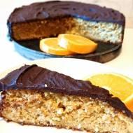 Libańskie ciasto pomarańczowe z czekoladą