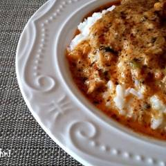 kurczak duszony na ryżu