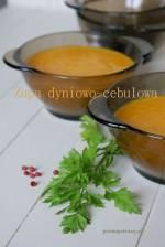 Zupa dyniowo- cebulowa