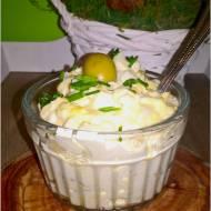 Pasta kanapkowa z oliwkami