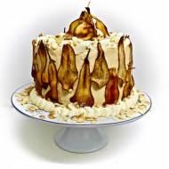 Tort gruszkowo kajmakowy