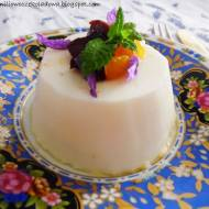 Wiosenna Pomarańczowo-kokosowa Panna cotta  (Vege & gluten free)