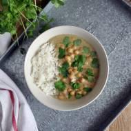 Zielone curry z ciecierzycą