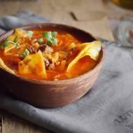 Zupa gołąbkowa / Cabbage roll soup